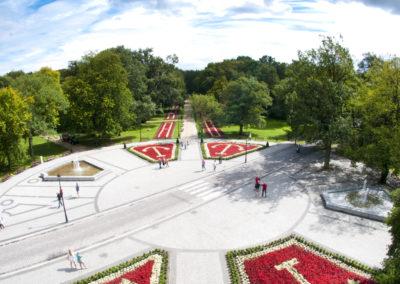 Park Zdrojowy, Świnoujście rok 2016