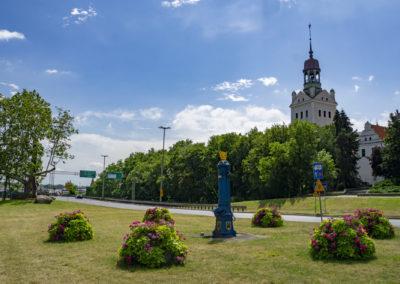 Trasa Zamkowa, Szczecin rok 2019