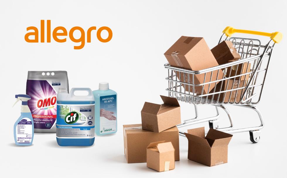 Sprzedajemy nasze produkty na portalu Allegro!